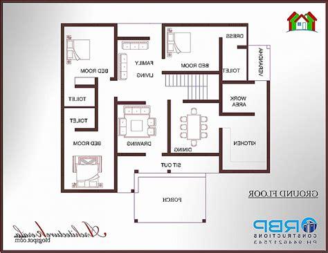 1000 sq ft house plans 3 bedroom kerala style house plan fresh 1 000 square foot house pla hirota