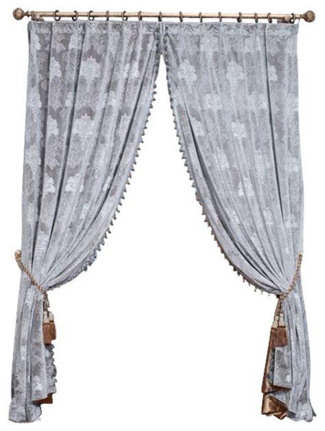King Drapery grey velvet king 1 panel drapery with lining each panel