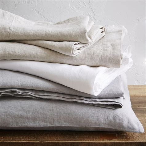 bed linen belgian flax linen sheets west elm uk
