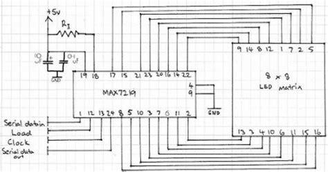 Pcb Matrix Lobang Ic tutorial arduino and the max7219 led display driver ic