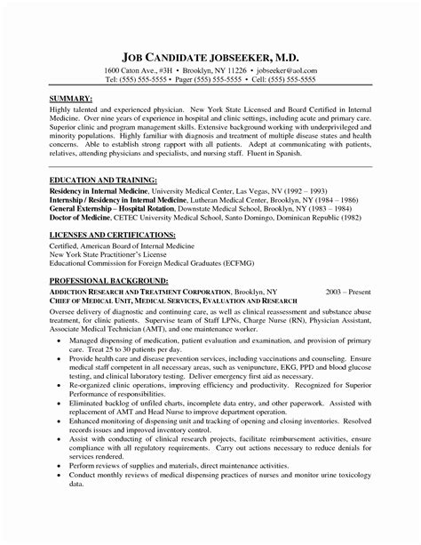 resume format for experienced candidates pdf