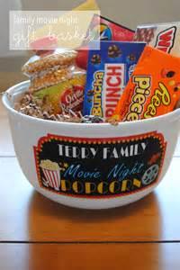 Movie Night Gift Basket Family Movie Night Gift Basket Lemons And Letterpress