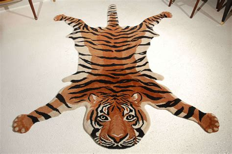 tiger rug with vintage quot tiger quot rug image 2