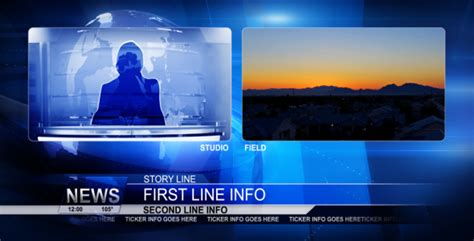 Broadcast Design News Package News Broadcast Template