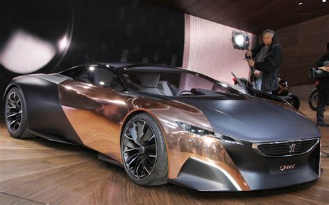 peugeot supercar peugeot onyx supercar concept cars reviews