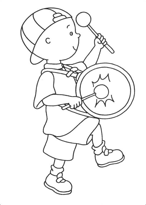 printable coloring pages caillou free printable caillou coloring pages for