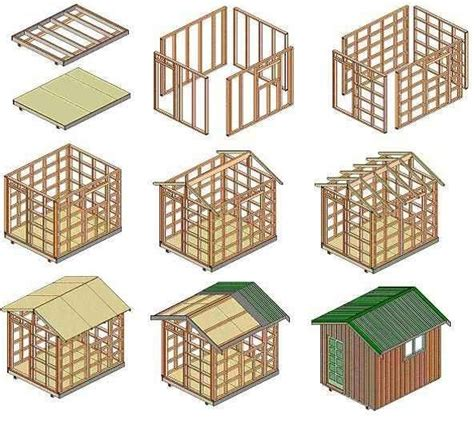 How to build a storage shed step 2 building the storage shed apps