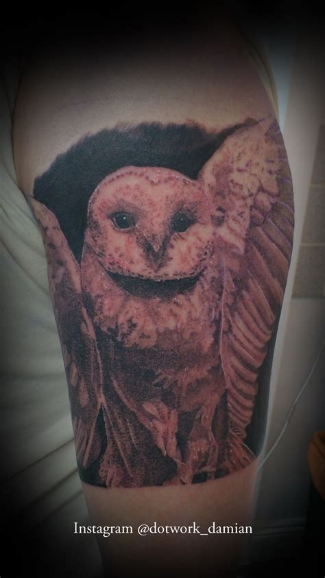 realistic owl tattoo realistic owl best design ideas