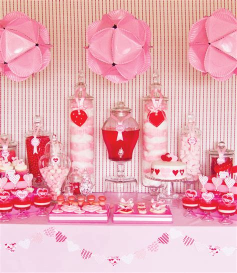 valentine s day table oh so darling valentine s day dessert tables
