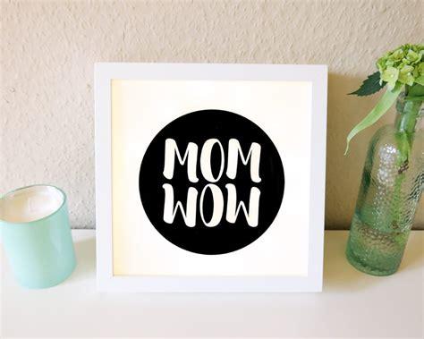 Lightbox Selber Machen by Muttertagsgeschenk Selber Machen Diy Lightbox Zum Mutter