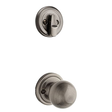kwikset door handle 100 kwikset interior door knobs glass shop kwikset circa 1 3 4 in antique nickel single cylinder