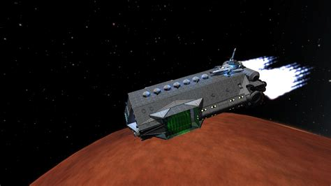 how to build a boat in kerbal space program mother ship class carrier 3 0 stock planes and ships