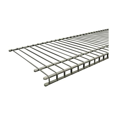 Closetmaid Black Wire Shelving 48 In X 24 In Nsf Black 4 Tier Wire Rack