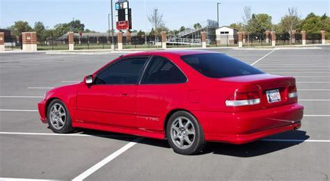 2000 4runner Floor Mats by Ok 1999 Civic Si B16b Swapped Milano Red Honda Tech