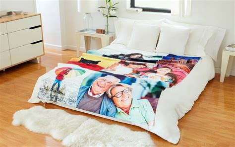 Customized Blankets With Photos by Photo Blanket Custom Fleece Photo Blankets Collage