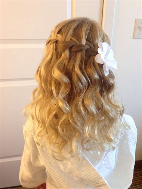 birth hairstyles the 25 best ideas about flower girl hairstyles on
