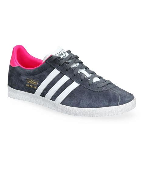 adidas originals gazelle grey casual shoes