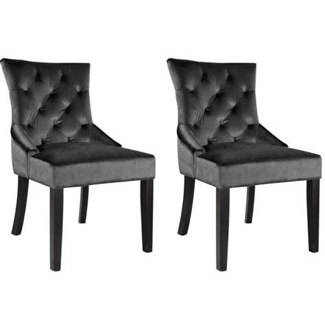 gray accent chairs set of 2 accent chair in gray set of 2 lad 490 c