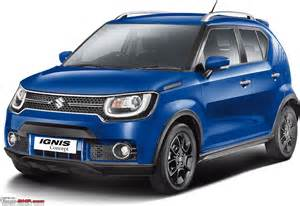 new maruthi suzuki cars the maruti suzuki ignis page 5 team bhp