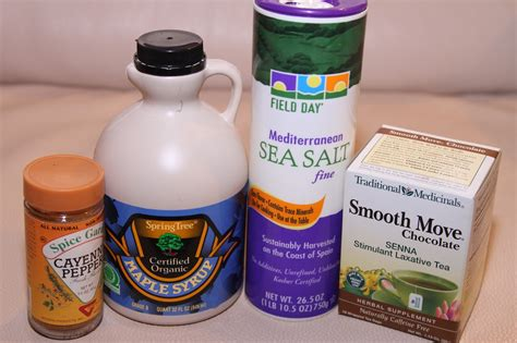 Sea Salt Detox Master Cleanse Recipe by For The Lemonade Use Grade B Maple Syrup And Non