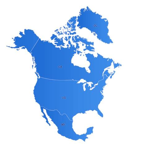 america map simple northamerica maps free flash map driven by xml