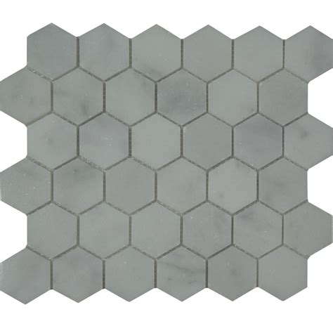 Honeycomb Mosaic Floor Tiles by Honeycomb Mosaic Tile White Marble Polished