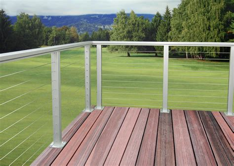 Aluminum Railing Systems Aluminum Deck Railing Simple Aluminum Railing With