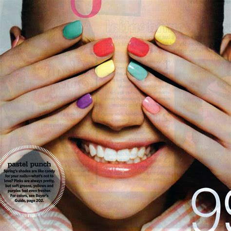one finger nail different color pictures something dayly trend multi colored nails