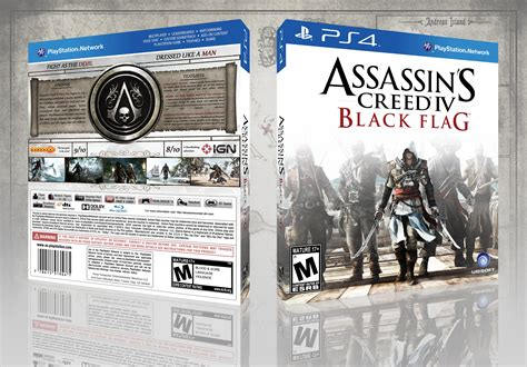 assassins creed iv black flag playstation 4 ign assassin s creed iv black flag playstation 4 box art