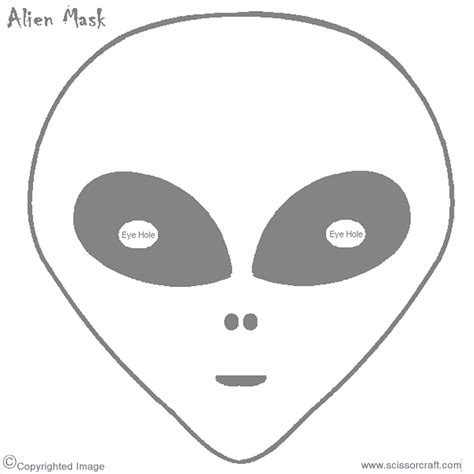 Printable Alien Eyes | printable alien mask birthdays pinterest