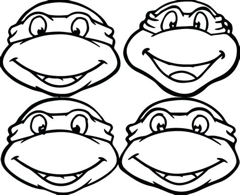 easy ninja turtle coloring page free coloring pages for teens detailed coloring pages r