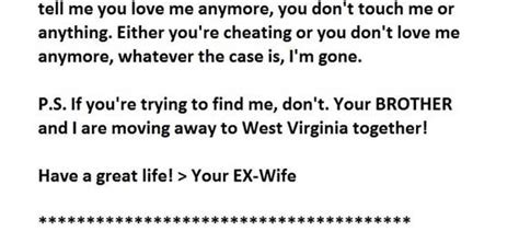 Divorce Letter To Husband In the best divorce letter you would read today lifestyle