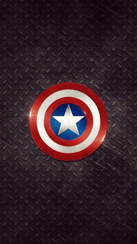captain america logo iphone  wallpaper ipod wallpaper