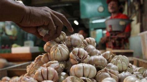 Tinggi Putih Merah harga bawang putih di palembang masih melambung tinggi