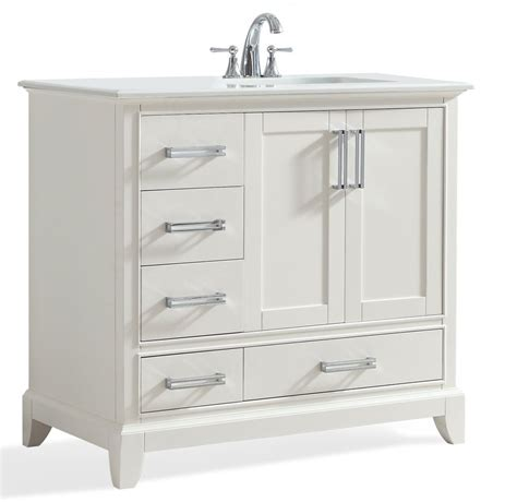 right offset sink vanity right offset sink vanity great wyndenhall windham white 36
