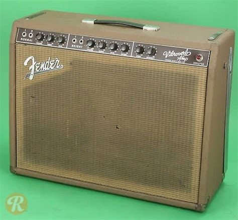 fender vibroverb  brownface price guide reverb