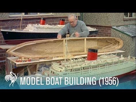 model boat vents model boat building 1956 youtube