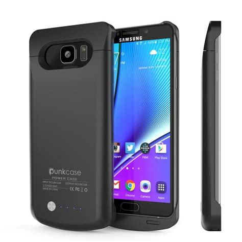 galaxy note  battery case punkcase mah charger case
