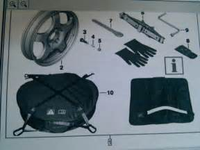 new bmw official spare tire kit for e90 335i included