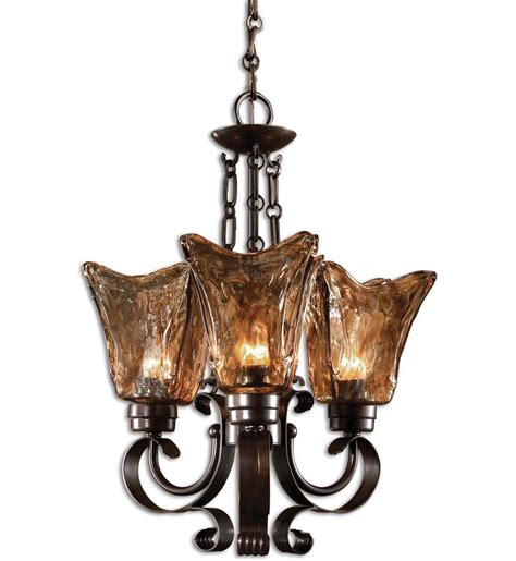 Uttermost Vetraio Uttermost 21008 Vetraio 3 Light Chandelier Ls