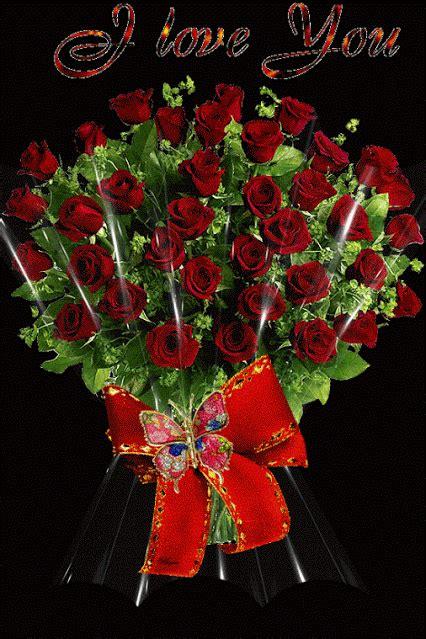 imagenes de rosas rojas hermosas con movimiento lindas rosas rojas con movimiento