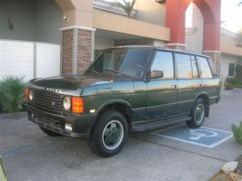 books about how cars work 1993 land rover defender lane departure warning buy used 1993 range rover classic lwb county long wheel base in garden grove california