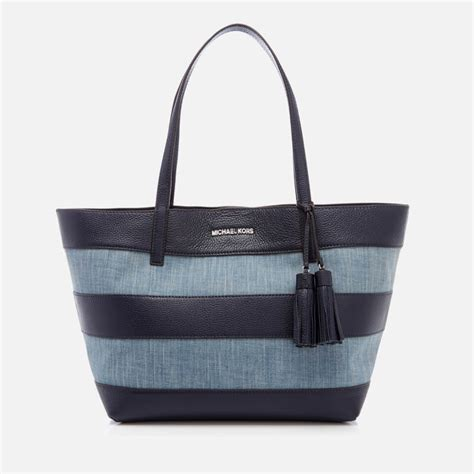 Target Basic Denim Canvas Tote by Michael Michael Kors S Striped Canvas Large East