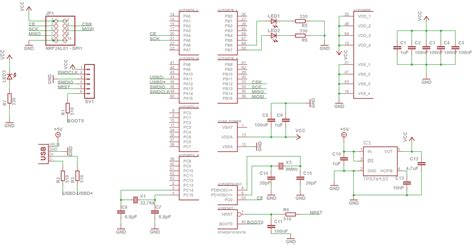 St Link V2 By Isee by Stm32 My Schematic Needs To Be Checked Before Pcb Design