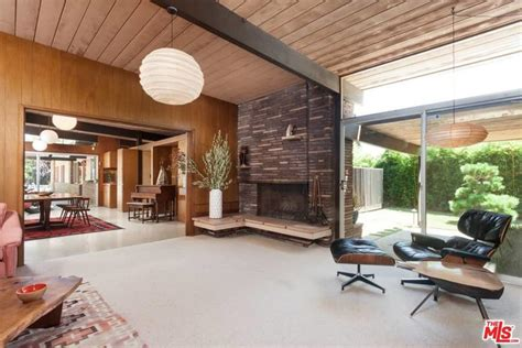 mid century modern architecture characteristics 1816 north stanley ave los angeles city ca 90046 mls