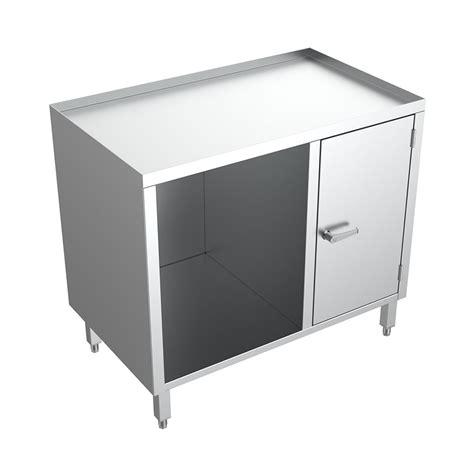 open work bench open faced medical cupboard