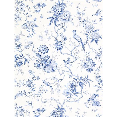blue wallpaper john lewis buy sanderson wallpaper pillemont dpempi101 china blue