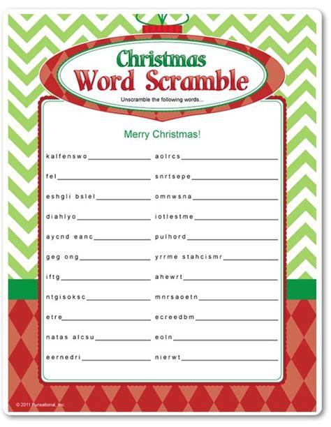printable christmas unscramble printable christmas word scramble fall winter