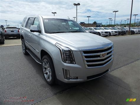 2017 Cadillac Escalade Luxury 4wd In Radiant Silver