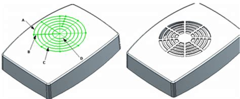 solidworks fill pattern solid thinking more functional features to build plastic
